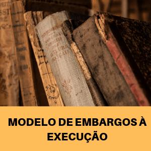 Modelo De Embargos à Execução Cédula De Crédito Rural Pignoratícia Nulidade Penhora Pn770