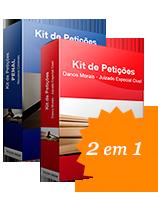 COMBO de Kit de Petições - Penal - Habeas Corpus e Liberdade Provisória