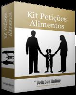 Kit de Petições - Alimentos |Direito de Família|