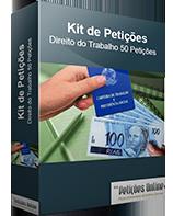 Kit de Petições Direito do Trabalho 50 Petições