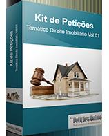 Banco de Petições Iniciais Prontas Direito Imobiliário Vol 01 Novo CPC