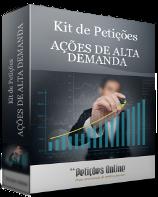 Kit de Petições - Causas de alta demanda - Novo CPC