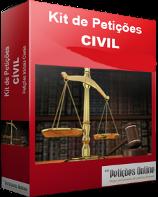 Banco de Petições Cíveis - Iniciais prontas conforme novo CPC - Vol. 01