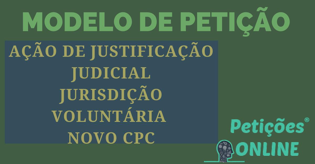 Ação De Justificação Judicial Novo Cpc União Estável Receber Seguro Dpvat Pn991