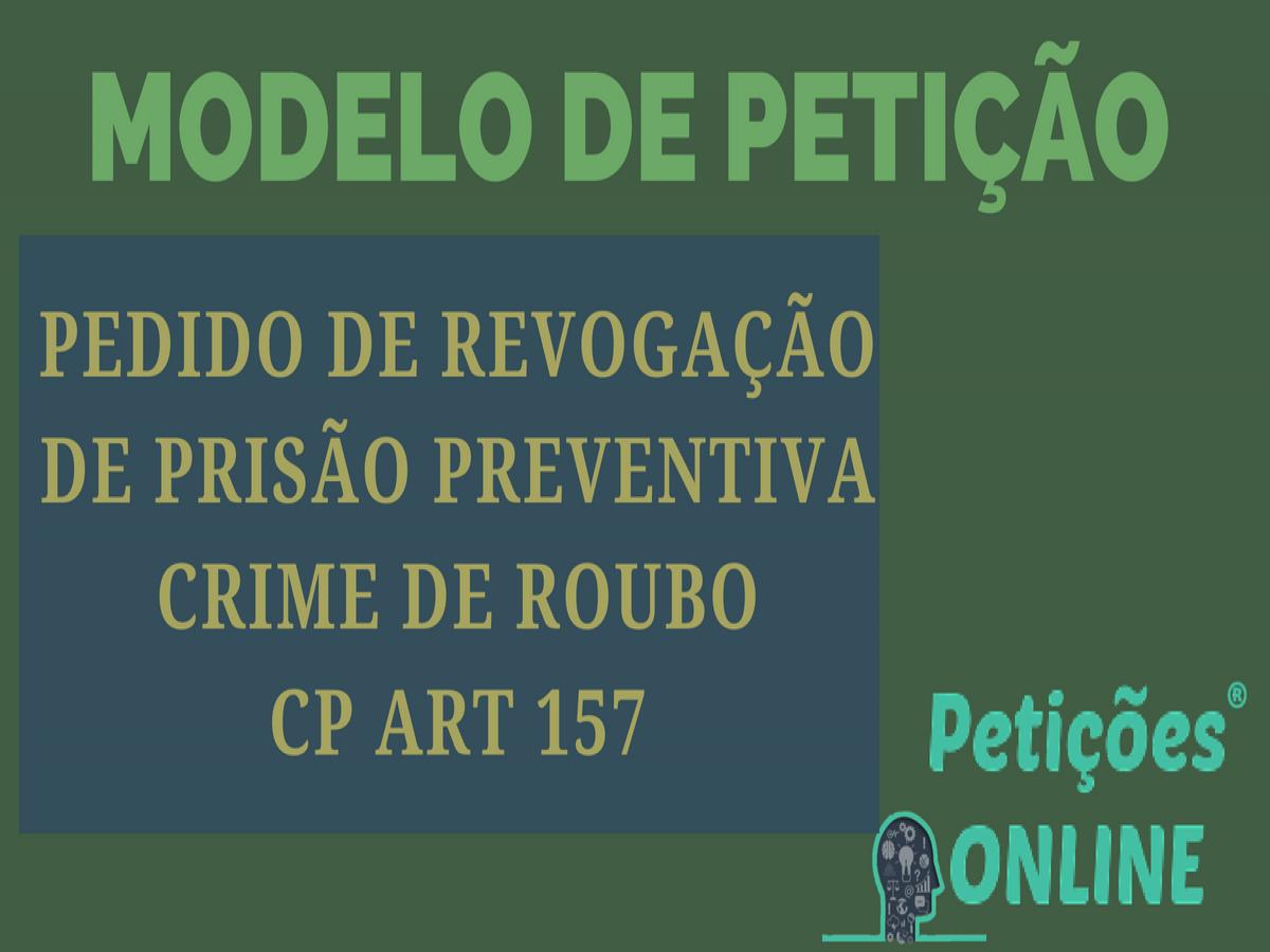 Pedido De Relaxamento De Prisão Preventiva Tráfico Hediondez Pn334