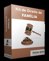 Kit com petições prontas com Ações Direito de Família Novo CPC/2015