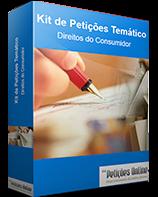 Kit de Petições inciais prontas de Direito do Consumidor - Vol. 01