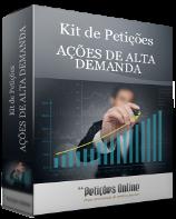 Kit de Petições - Causas de alta demanda Novo CPC