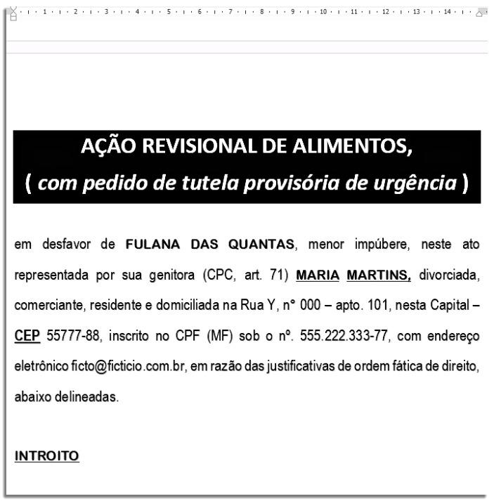 Modelos De Petições Grátis Petiçõesonline 2019